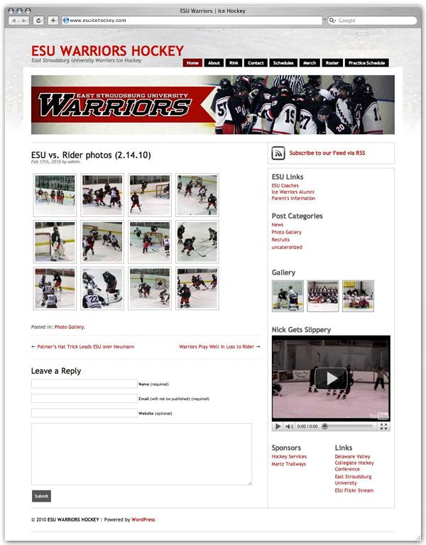 ESU Ice Hockey gallery