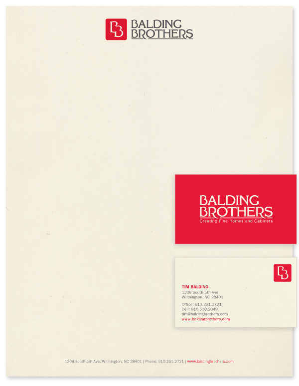Balding Brothers stationery