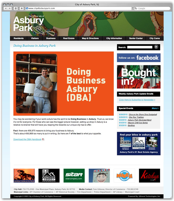 City of Asbury Park DBA