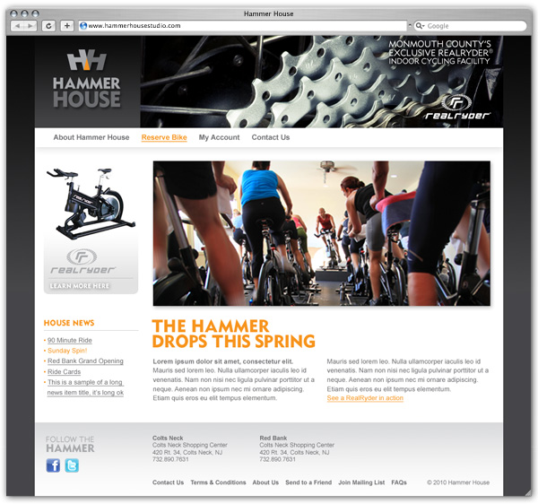 Hammer House home page