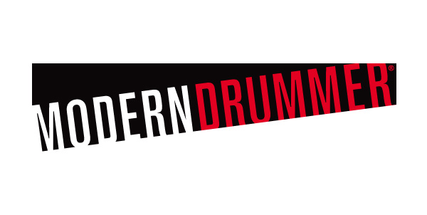 Modern Drummer magazine logo/masthead