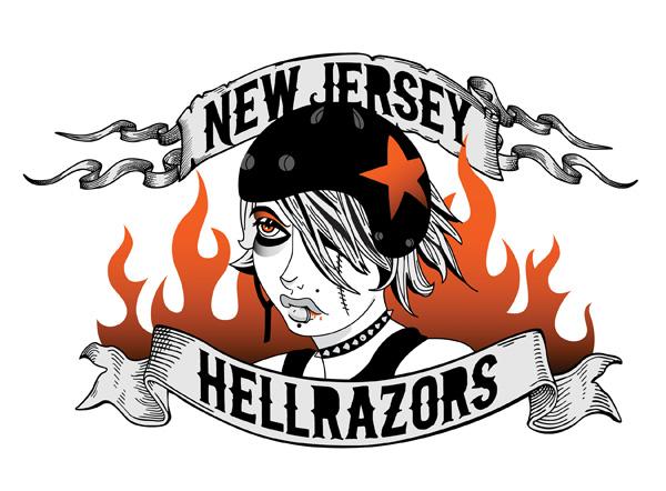 NJ Hellrazors Logo